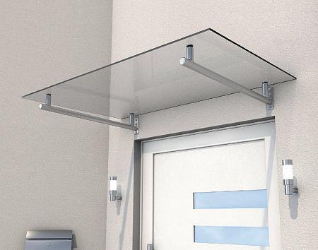 edelstahl vord cher glas vordach. Black Bedroom Furniture Sets. Home Design Ideas