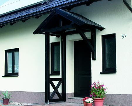 Vordächer Holz Vordach Holzkomplett De